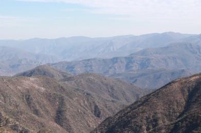 Μια χοντρή οροσειρά.